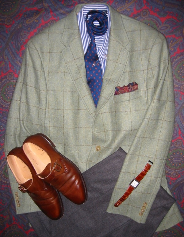 d17da9b481988 ... Norman Hilton Lovat Windowpane Sportcoat. April 13, 2011. Our ...