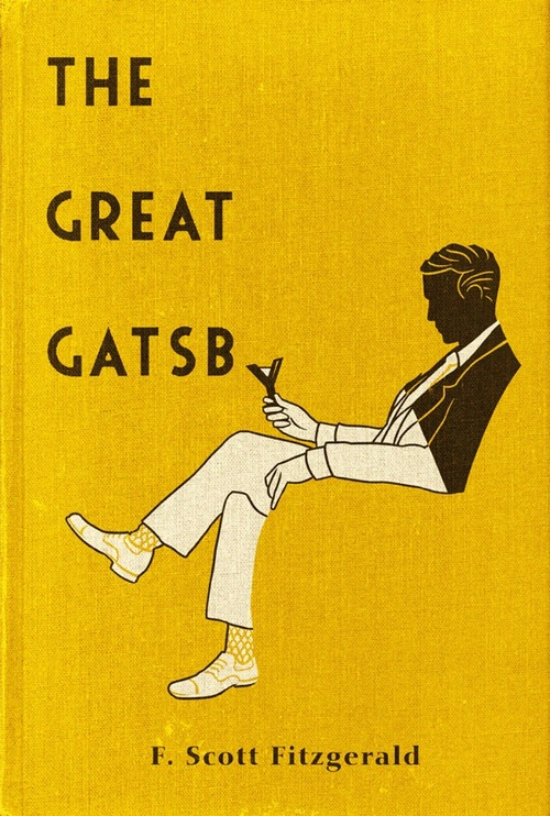 Book Cover Art Styles : The great gatsby and old money versus new