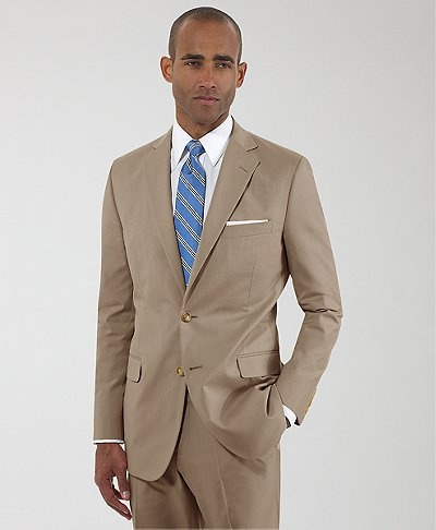Labor Day Sale: Obama Tan Suits 50% Off At Brooks