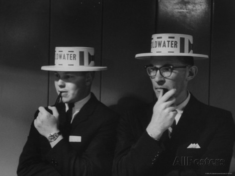 leonard-mccombe-pipe-smokers-listening-to-speech-by-senator-barry-m-goldwater-at-young-republican-convention