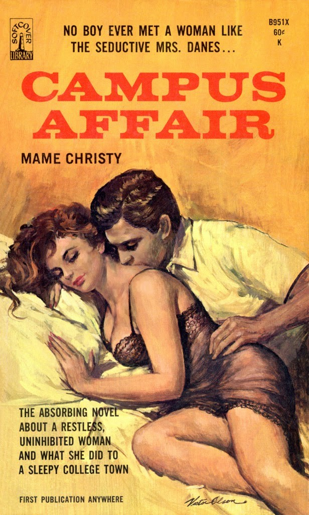 Campus Affair, 1966 - Cover art by Victor Olson