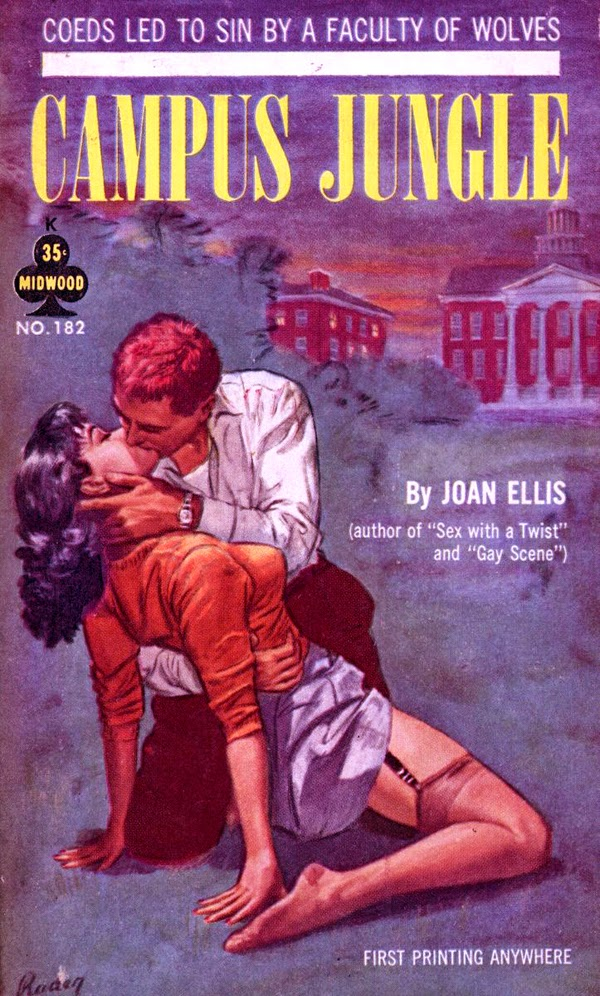 Campus Jungle, 1965 - illus Paul Rader.2