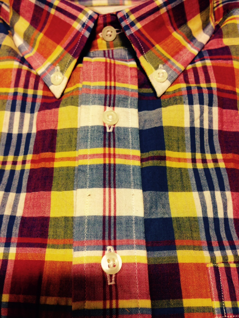 Bled Dry  New David Wood Bleeding Madras Shirts Sell Out Instantly d19afe4f19
