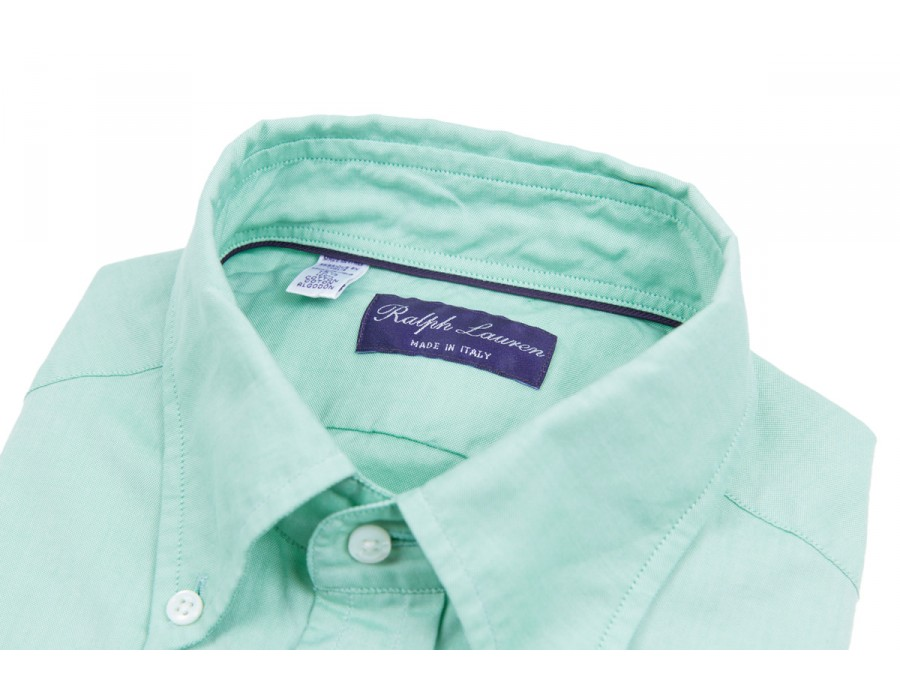 ralph-lauren-purple-label-255-mint-green-oxford-cloth-button-down-shirt-1