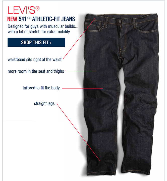 how to choose correct jean size men