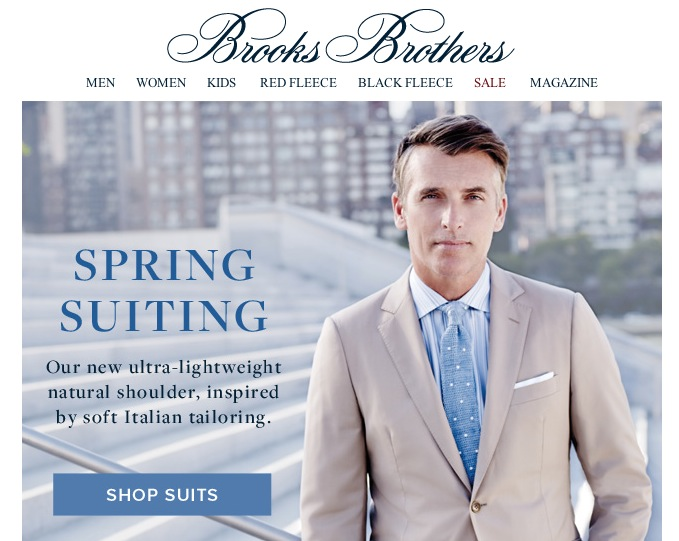 c023a927d04 Spalla Naturale  The New Brooks Brothers Natural Shoulder