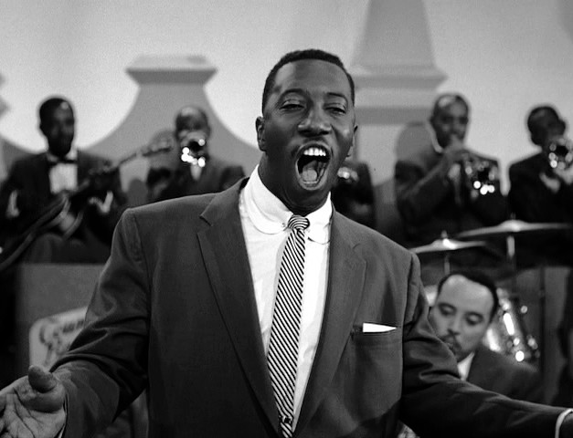 10- JOE WILLIAMS con l-orchestra di Count Basie nel film Jamboree del 1957
