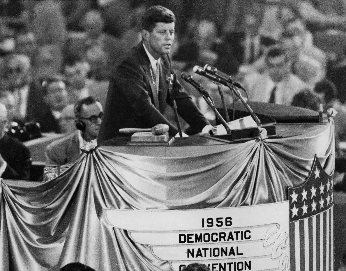 John_F._Kennedy_nominates_Adlai_Stevenson_1956