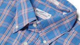 gant blue shirt