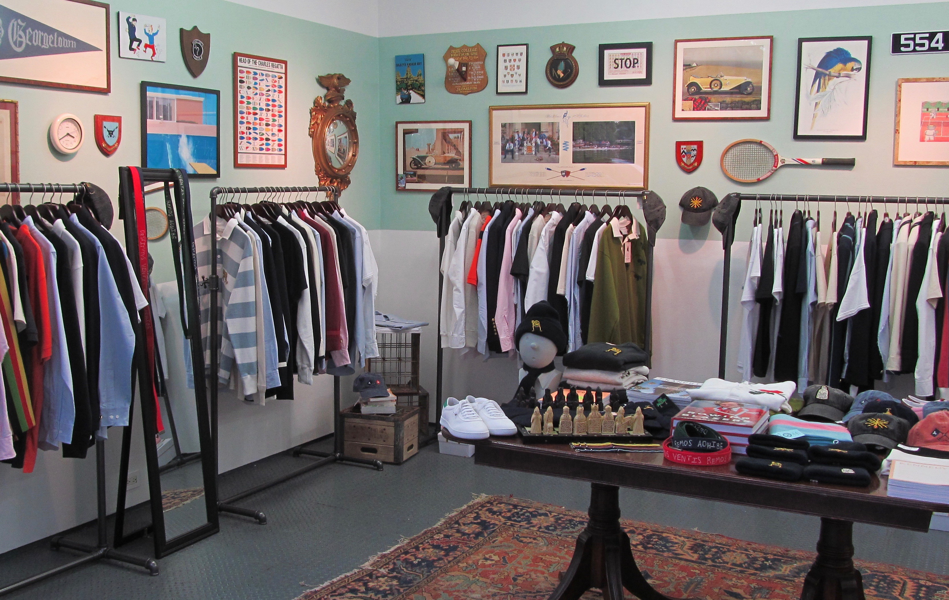 new cheap utterly stylish first look The Rowing Blazers Pop-Up Shop