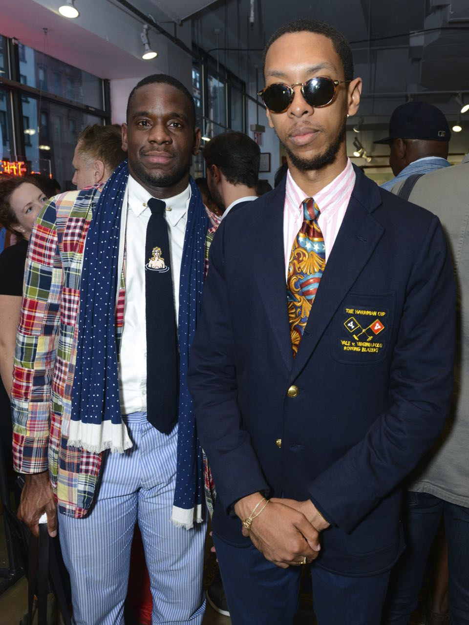 Live Crew: Rowing Blazers' NY Pop-Up Opening Party