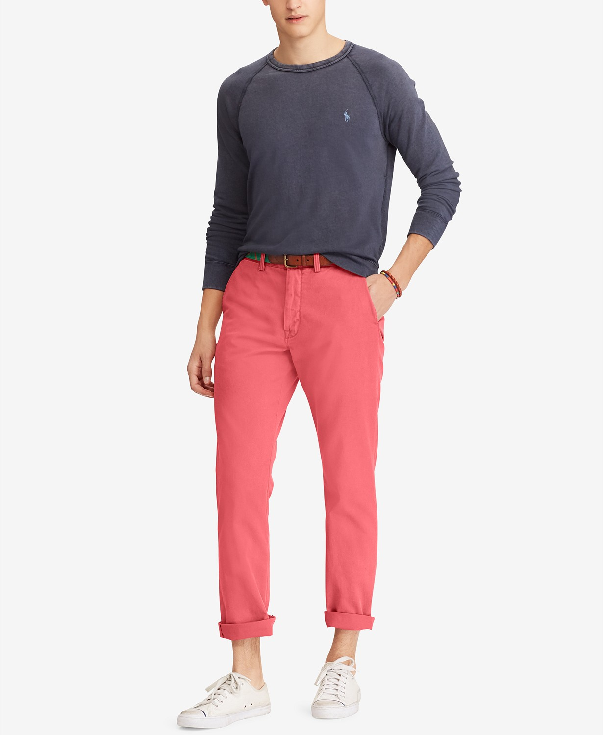 Pants salmon with colors what go What to