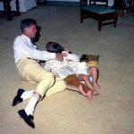 Yellow Pants, Athletic Socks, Velvet Slippers: JFK's Christmas Outfit, 1962