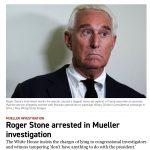 Roger Stone Arrested For Prole Gape, Will Plead Collar Roll Defense